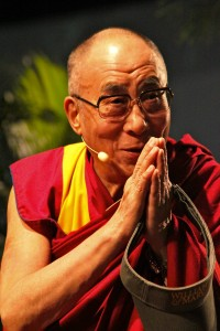 "The Dalai Lama stated that it was a ""great honor"" to speak at the College. MATT CARPENTER / THE FLAT HAT"