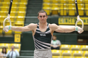 Funiciello performs at Kaplan Arena in Williamsburg, Va. COURTESY PHOTO / TRIBE ATHLETICS