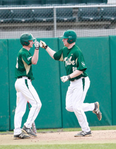 Look for junior first baseman Michael Katz to continue fueling the Tribe's potent offense. COURTESY PHOTO / TRIBE ATHLETICS