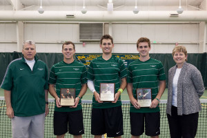 The College celebrated its seniors Saturday. COURTESY PHOTO / TRIBE ATHLETICS