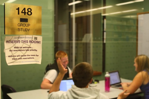 Swem library study rooms