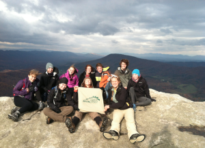 "There will be one more Tribe Adventure Program this semester. On Saturday, Nov. 29, a ""Thanksgiving Camping"" trip to Sharpe Top, Va will be held. COURTESY PHOTO / OLIVIA TRANI"