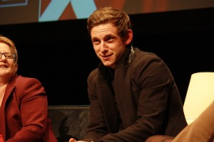 Lead actor Jamie Bell discussed his role in the show. ASHLEY RICHARDSON /  THE FLAT HAT