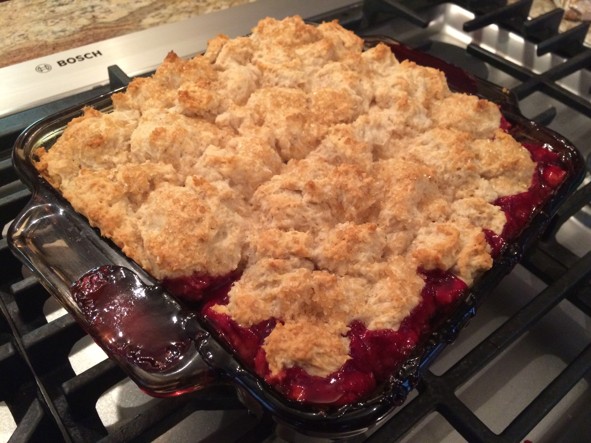 cromer blackberry cobbler
