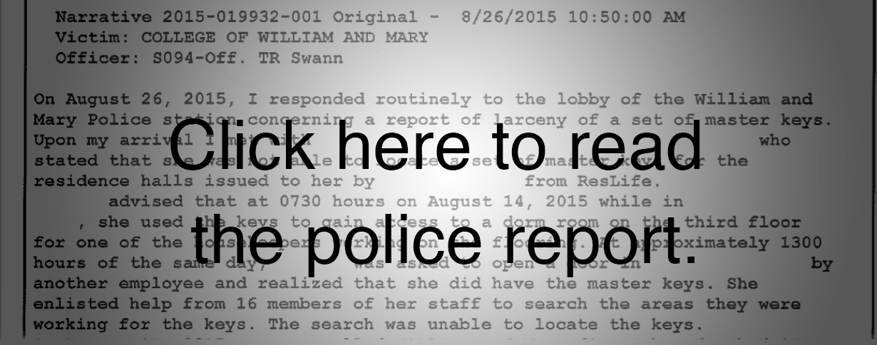 Police report copy