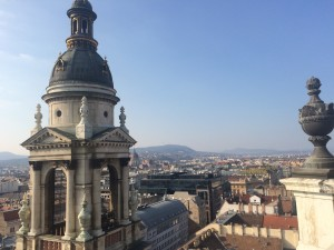 """The view from the top of St Stephen's Basilica"" Meilan Solly / The Flat Hat"
