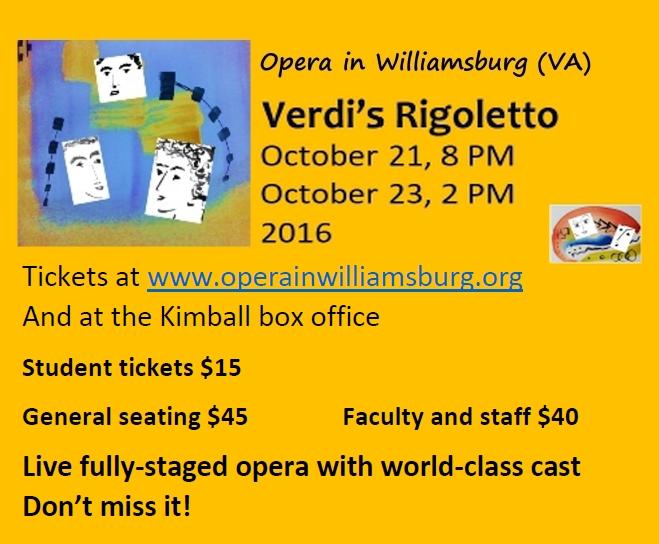 Verdi's Rigoletto Opera