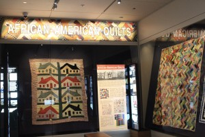 "The exhibit ""A Century of African-American Quilts"" is on display at the Abby Aldrich Rockefeller Folk Art Museum."