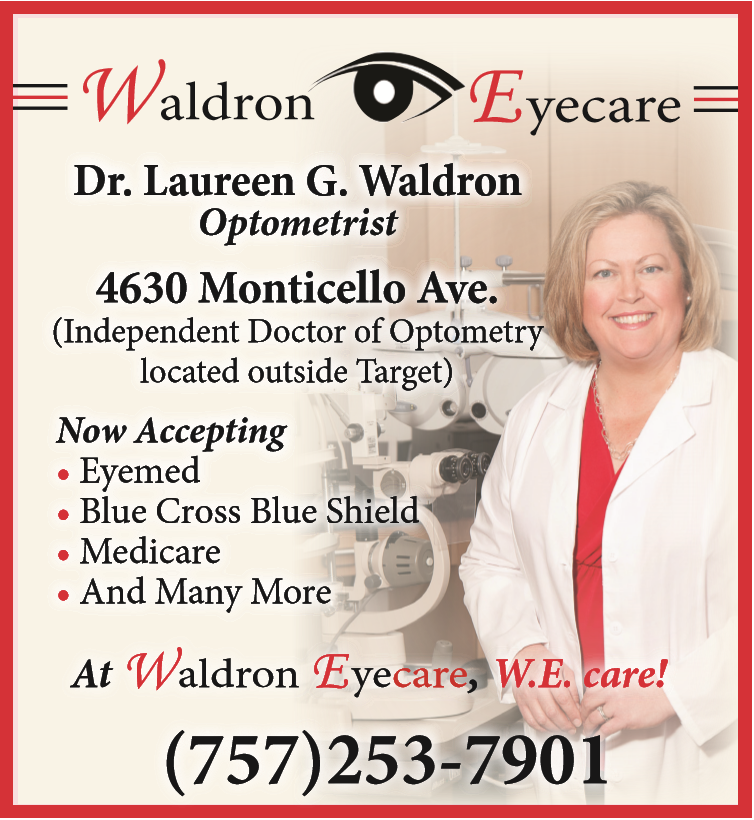 Visit Waldron Eyecare located right outside Target