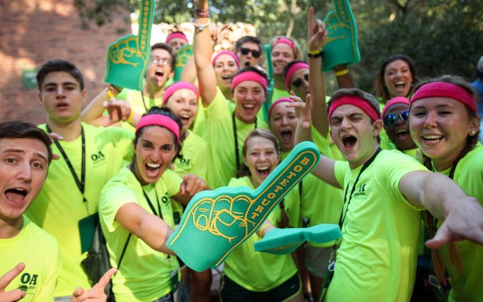Statistics show FYE Orientation staff does not accurately