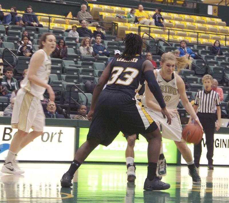 Women's basketball: Tribe stops five-game losing streak, edging VCU on road