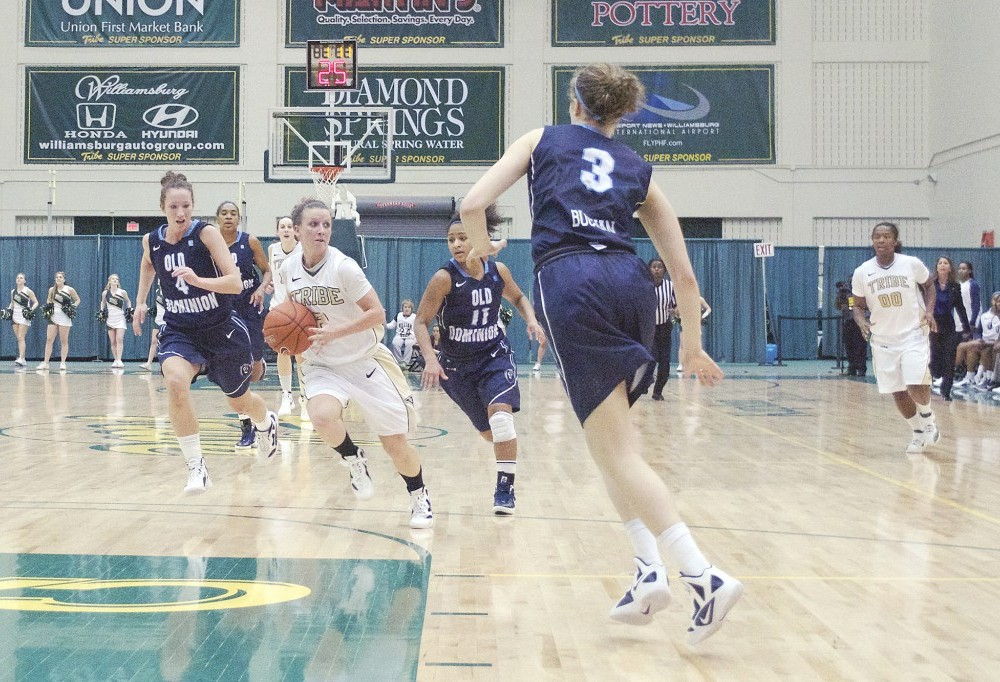 Women's basketball: College falls hard at home