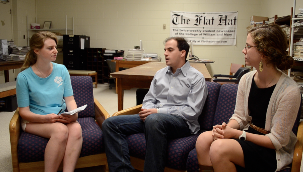 Video: Interview with SA Presidential and Vice-Presidential Candidates David Alpert '13 and Meghan Moore '13
