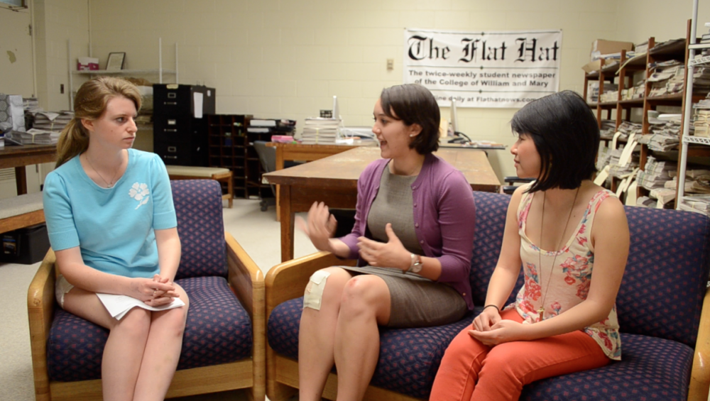 Video: Interview with SA Presidential and Vice-Presidential Candidates Grace Colby '13 and Alyssa Zhu '14