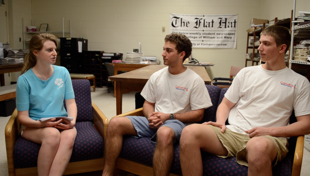 Video: Interview with SA Presidential and Vice-Presidential Candidates Andrew Canakis '13 and Andrew Salamone '13