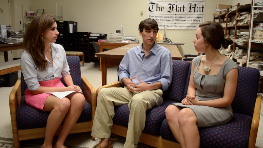 Video: Interview with SA Presidential and Vice-Presidential Candidates Dallen McNerney '14 and Stacey LaRiviere '14