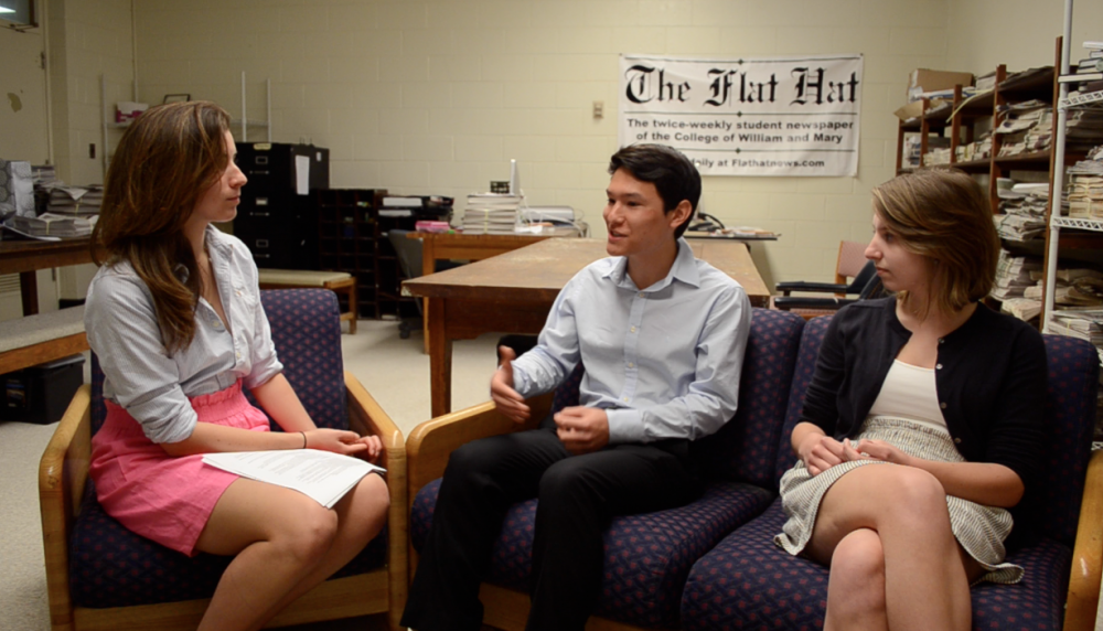 Video: Interview with SA Presidential and Vice-Presidential Candidates Noah Kim '13 and Sky Sprayberry '15