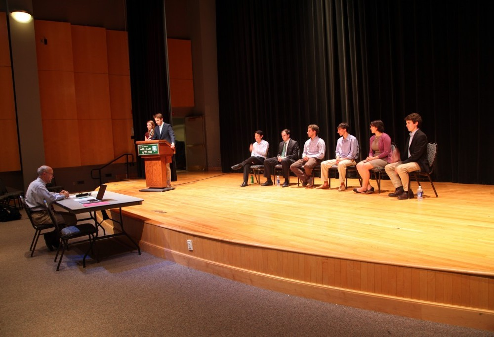 Student Assembly presidential candidates make their case