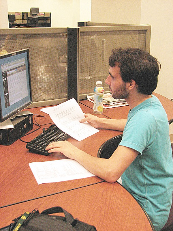 Test claims students learn little during college