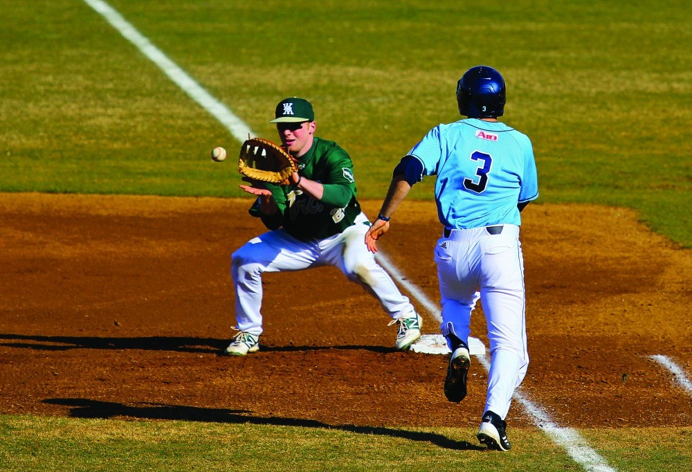 Baseball: Tribe loses two of three to Northeastern