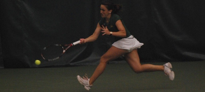 Women's tennis: Harvard defeats Tribe, 5-2