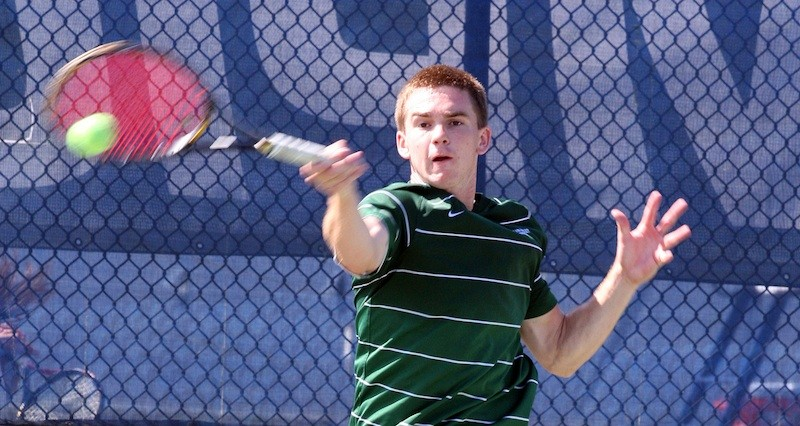 Men's tennis: Tribe falls in first round of conference tournament to UNC-Wilmington