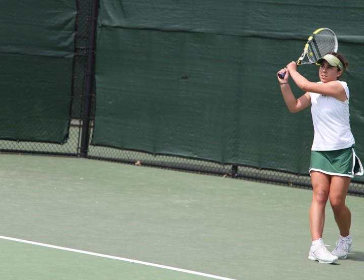 Women's tennis: College bests Terriers on Senior Day, 5-2