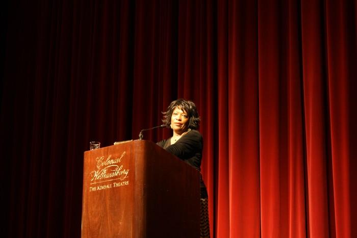 Former poet laureate reads personal poetry