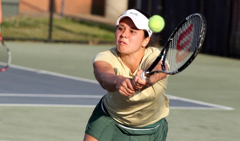 Women's tennis: College dropped in CAA tournament opening round