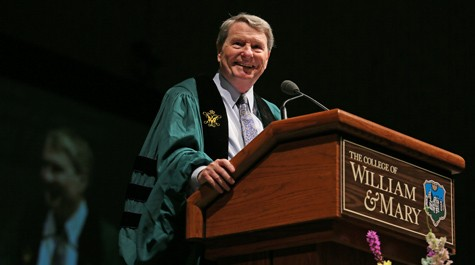 Lehrer reminds 2012 graduates to stay informed and involved