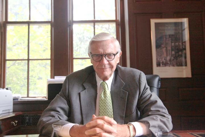 College President Taylor Reveley reminisces about his college experience