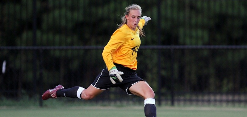 Women's soccer: Schaffer's dominant play leads College past Davidson