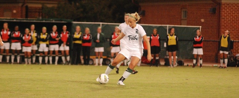 Women's soccer: Tribe bounces back with win over Dukes