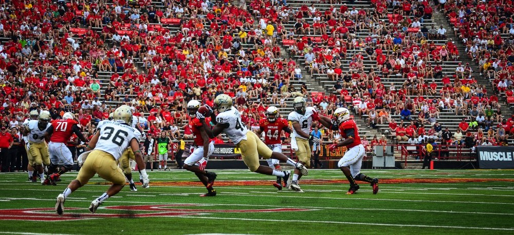 Football: Tribe suffers narrow defeat at Maryland