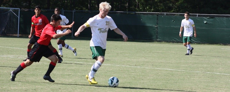 Men's soccer: Offense sputters as Tribe stumbles on the road, 1-0