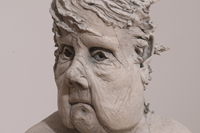 Sculptures on display at Andrews Gallery