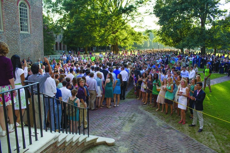 College extended 4,565 offers to join Class of 2017