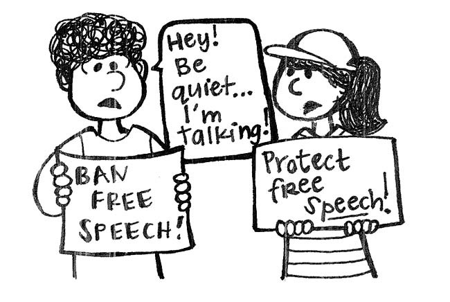 Speech rights on campus: Don't forget the problems we've had in the past