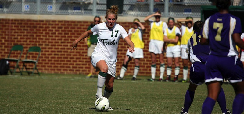 Women's soccer: College cruises to win over Towson, dropping Tigers, 5-0