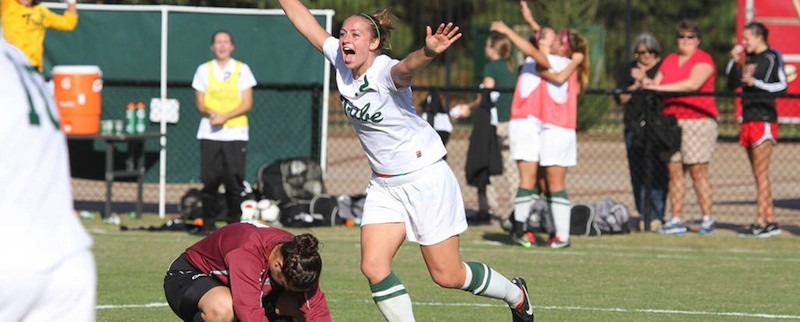 Women's soccer: College trumps Pride in overtime