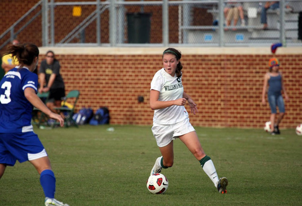Women's soccer: Rutter's two goals lead Tribe to triumph over Seahawks