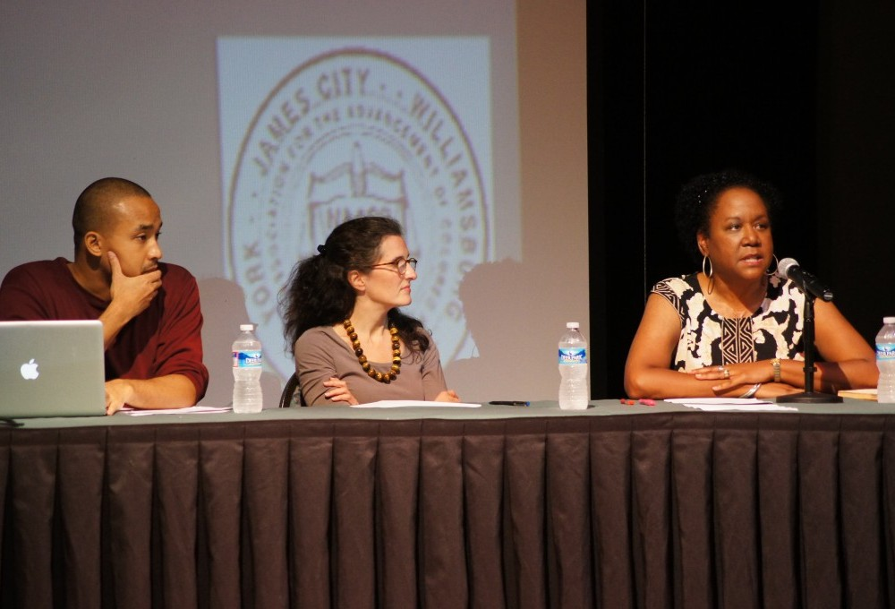 Panel discusses history of voter suppression