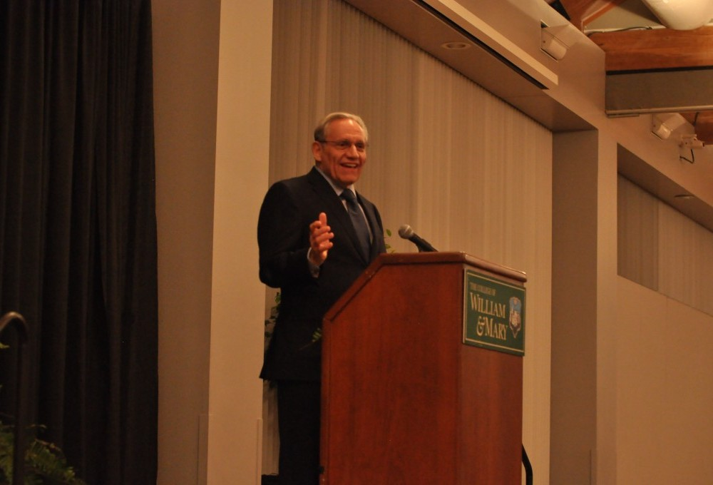 Bob Woodward discusses politics, journalism and economy