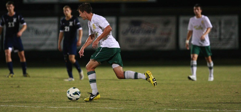 Men's soccer: Tribe ends 2012 with draw