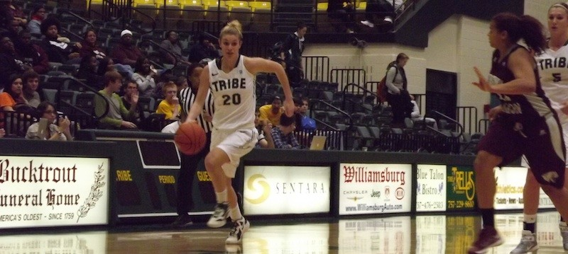 Women's basketball: College earns first victory with rout of Virginia Union