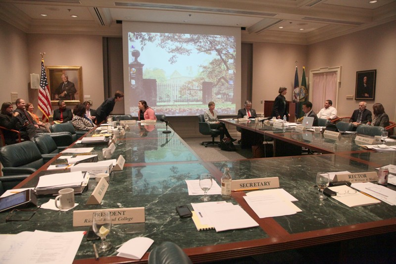 BOV Committee on Financial Affairs discusses lack of state funding