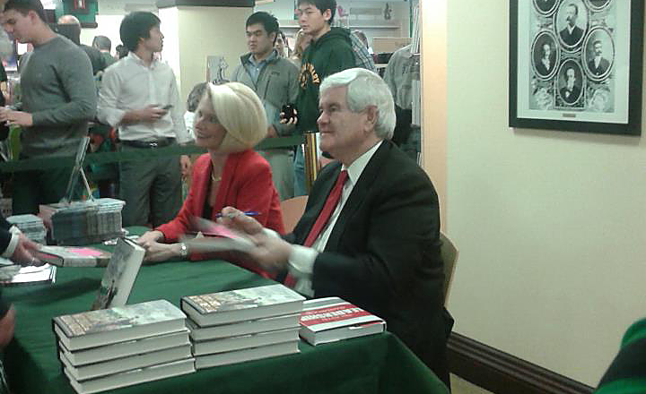 Book signing brings Gingriches