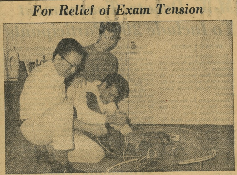 For Relief of Exam Tension – Jan. 14, 1966