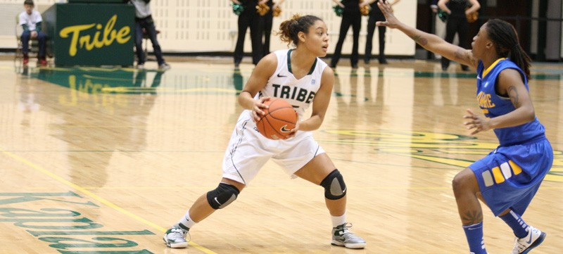 Women's Basketball: Conference leader Delaware defeats Tribe