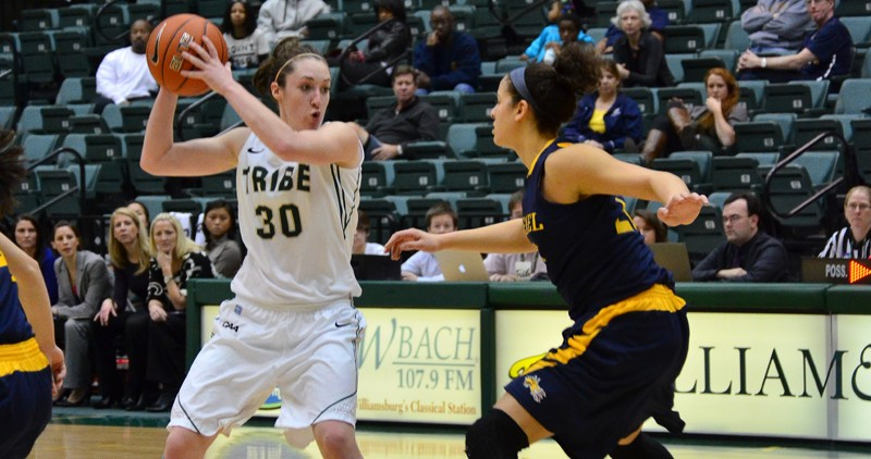 Women's basketball: Patriots hand College 57-56 loss in final seconds